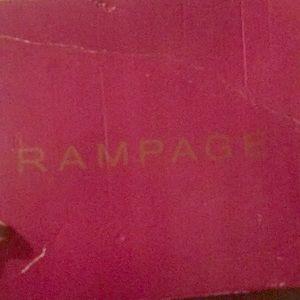 Rampage Black heel boots
